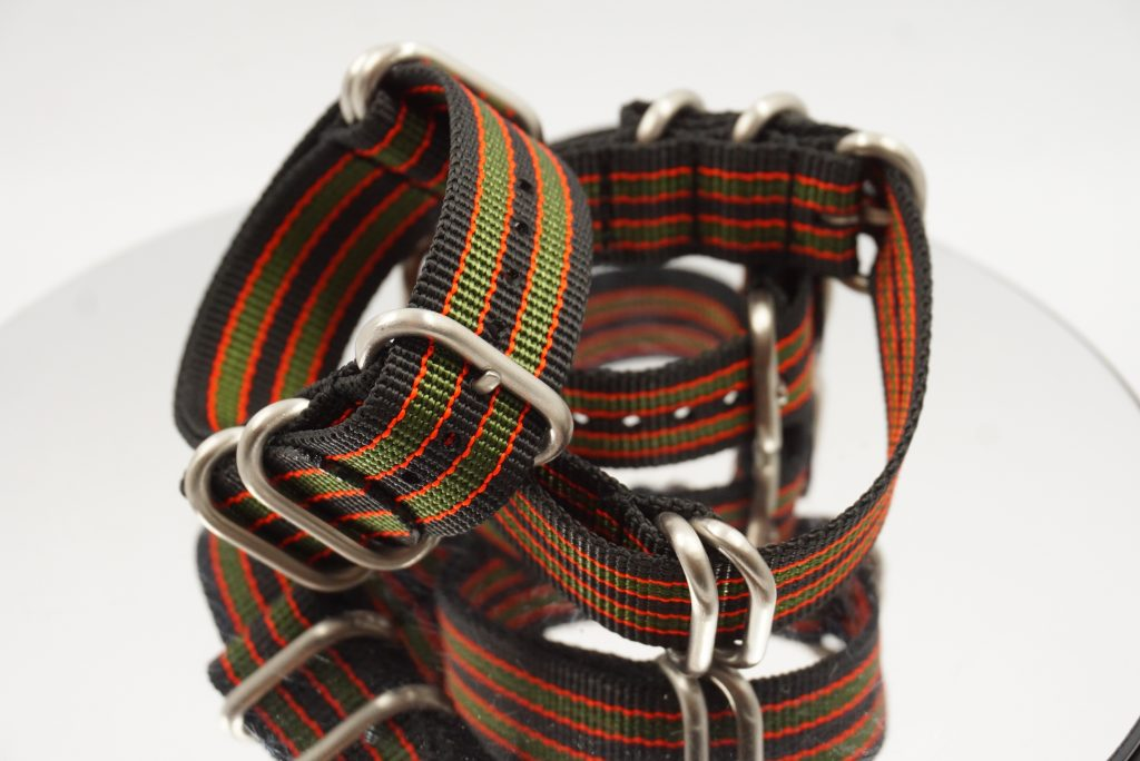 We sell the 5 x buckle Bond strap in various sizes - 18mm to 22mm