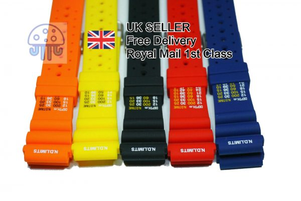 ND Limits watch strap for Citizen Promaster Dive watches