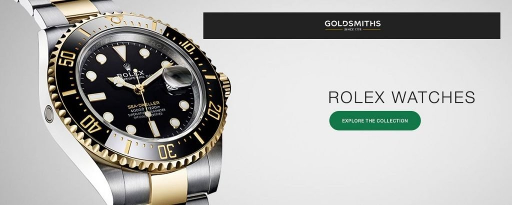 Buy your NEW Rolex from an authorised, approved Rolex UK dealer - Goldsmiths