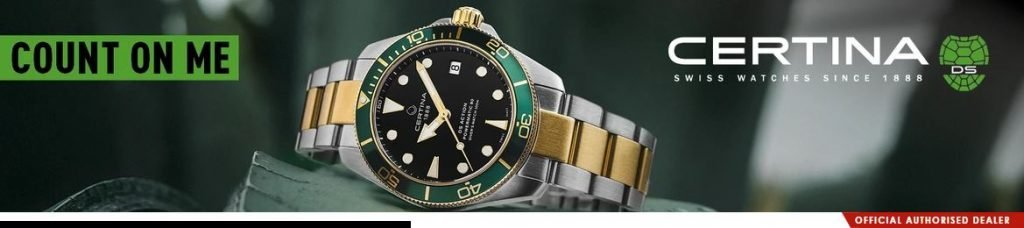 Promotion - 10% off Voucher Code for Certina watches at JuraWatches.co.uk